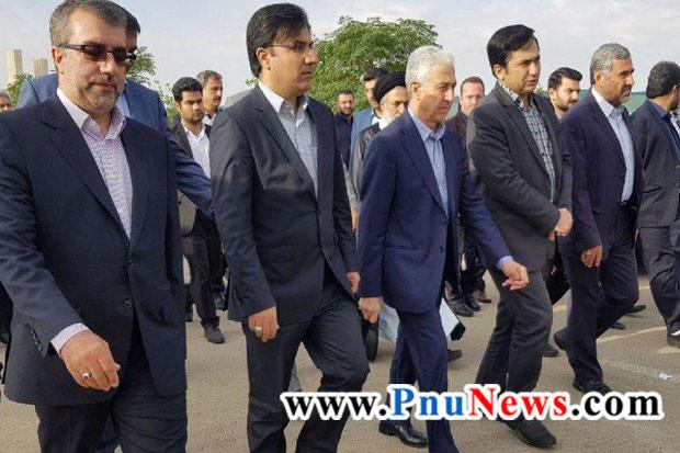 وزیر علوم تحقیقات منصور غلامی
